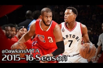 Les highlights du duel Kyle Lowry (21 pts, 6 asts) – Chris Paul (23 pts, 10 asts)
