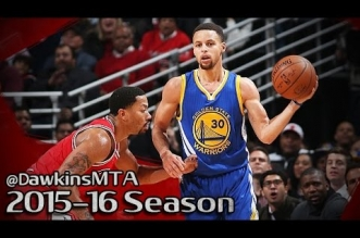 Les highlights du duel Stephen Curry (25 pts, 11 asts) – Derrick Rose (29 pts)