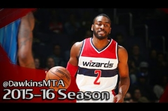 Les highlights du duo John Wall (24 pts, 13 asts) – Otto Porter (20 pts)