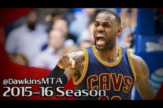 Les highlights du duo LeBron James (27 pts, 7 asts) – Kyrie Irving (22 pts, 9 asts)