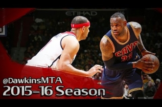 Les highlights du trio LeBron James (34 pts) – Kyrie Irving (32 pts) – Jr Smith (25 pts)