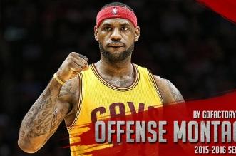 Les highlights offensifs de LeBron James depuis le début de saison