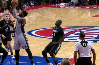 Les In Your Face d'Andre Drummond et Omer Asik