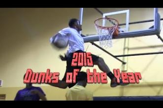 Les meilleurs dunks de 2015 selonDunkademics