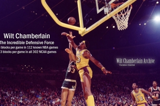 Mix: Wilt Chamberlain – The Incredible Defensive Force