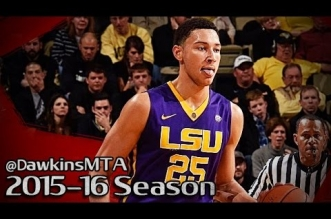 NCAA: les highlights de Ben Simmons (36 pts, 14 rbds) et Domantas Sabonis (35 pts, 14 rbds)