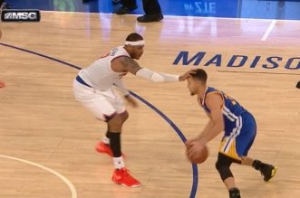 Carmelo Anthony et Setphen Curry