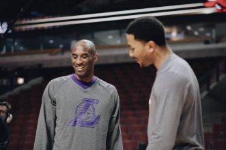 Derrick Rose et Kobe Bryant
