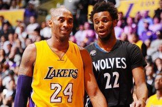 Kobe Bryant et Andrew Wiggins