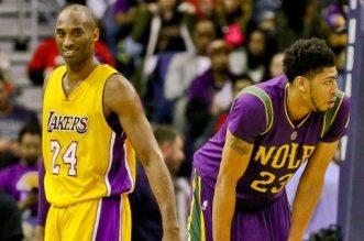 Kobe Bryant et Anthony Davis