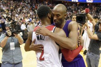 Kobe Bryant et John Wall