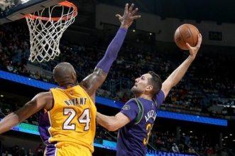 Kobe Bryant et Ryan Anderson