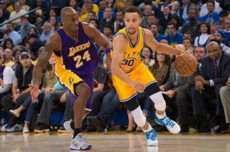 Kobe Bryant et Stephen Curry