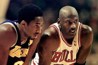 Michael Jordan et Kobe Bryant