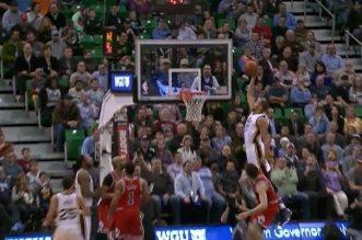 Rudy Gobert dunk