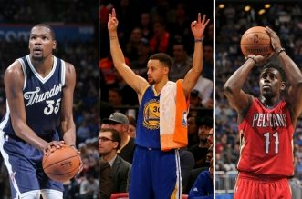 kevin durant, curry et durant