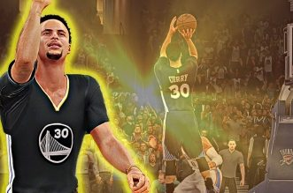 Le game winner de Stephen Curry face au Thunder version NBA 2K16