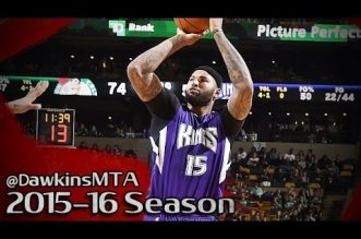 Le highlights de DeMarcus Cousins (31 pts) et Rajon Rondo (14 pts, 15 asts)