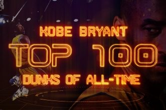 Le Top 100 dunks de Kobe Bryant