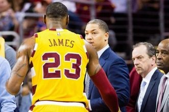 lebron james tyronn lue