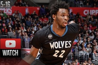 Les highlights d'Andrew Wiggins face aux Clippers: 31 points