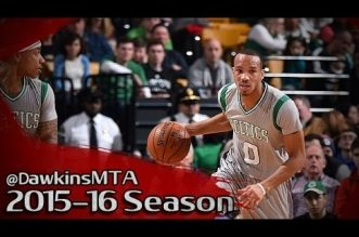 Les highlights d'Avery Bradley face aux Kings: 25 points dont 6 3-pts