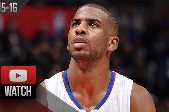 Les highlights de Chris Paul face aux Spurs: 28 points et 12 passes