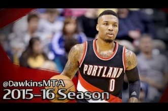 Les highlights de Damian Lillard face aux Pacers: 33 points