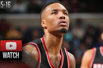 Les highlights de Damian Lillard face aux Grizzlies: 33 points et 5 passes