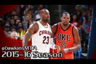 Les highlights de Kevin Love (29 pts) et du duel LeBron James (25 pts, 10 asts) – Kevin Durant (26 pts)