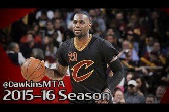 Les highlights de LeBron James (25 pts) et du duel Derrick Rose (28 pts) – Kyrie Irving (19 pts)