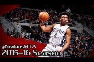 Les highlights de Stanley Johnson face aux Knicks: 22 points, 9 rebonds et 5 passes