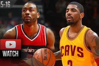 Les highlights du duel John Wall (21 pts, 13 asts) – Kyrie Irving (28 pts)