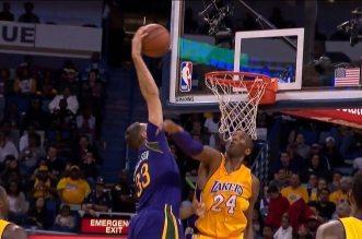 Ryan Anderson postérize Kobe Bryant!