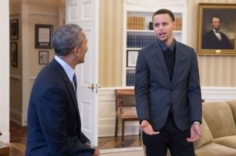 stephen curry barack obama