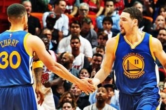 stephen curry et klay thompson