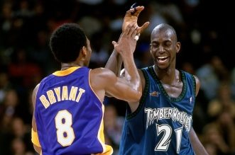 Vidéo: Kobe Bryant et Kevin Garnett au fil des années