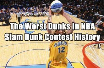 Vidéo : les pires dunks de l'histoire du Slam Dunk Contest