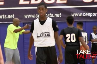 Zaire Wade, fiston de Dwyane, fait admirer son talent au camp John Lucas