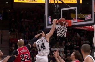 Danny Green dunk