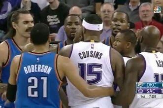 Kevin Durant et DeMarcus Cousins