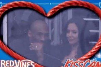 Kobe kiss cam