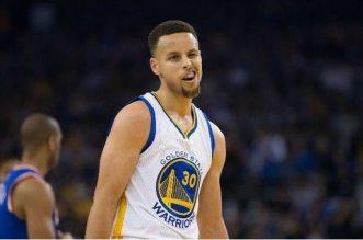 Stephen Curry Warriors Knicks