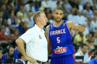 Vincent Collet et Nicolas Batum