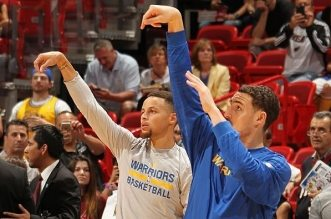 curry thompson 3 points