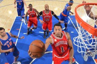 Les highlights de Carmelo Anthony (26 pts), Derrick Rose (30 pts) et Kristaps Porzingis (19 pts, 10 rebs)