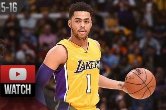 Les highlights de D'Angelo Russell (27 pts) contre Orlando