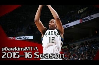 Les highlights de Jabari Parker (36 pts) et Giannis Antetokounmpo (triple-double)
