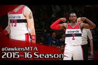 Les highlights de John Wall face aux Sixers: 37 et 7 passes