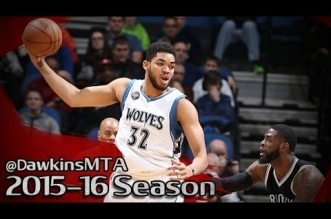 Les highlights de Karl-Anthony Towns (28 pts, 7 asts) et Andrew Wiggins (26 pts, 6 asts)